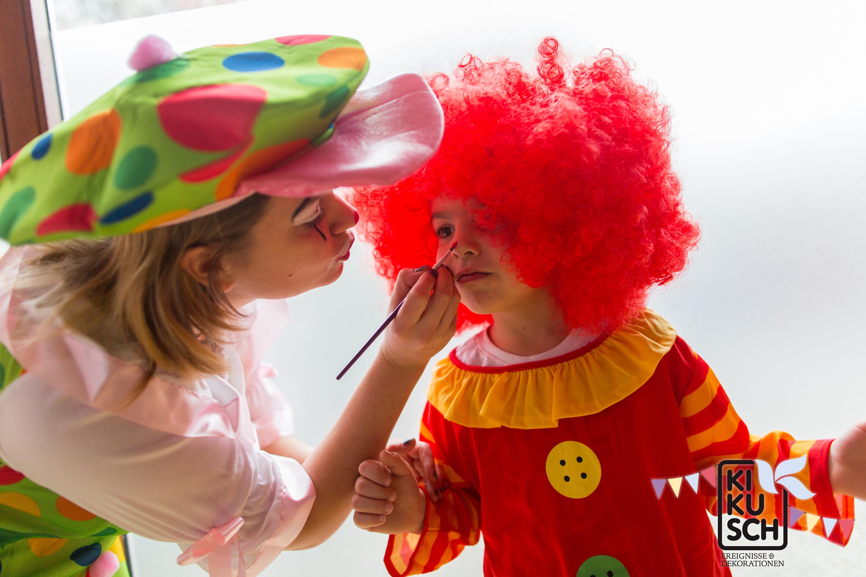 Zirkusparty für Kindergeburtstag buchen